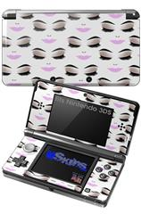 Face Light Pink - Decal Style Skin fits Nintendo 3DS (3DS SOLD SEPARATELY)