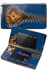 Ripples - Decal Style Skin fits Nintendo 3DS (3DS SOLD SEPARATELY)