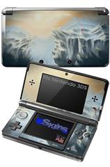 Ice Land - Decal Style Skin fits Nintendo 3DS (3DS SOLD SEPARATELY)