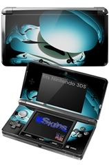Silently-2 - Decal Style Skin fits Nintendo 3DS (3DS SOLD SEPARATELY)