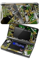 Shatterday - Decal Style Skin fits Nintendo 3DS (3DS SOLD SEPARATELY)