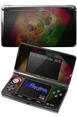 Swiss Fractal - Decal Style Skin fits Nintendo 3DS (3DS SOLD SEPARATELY)