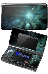 Shards - Decal Style Skin fits Nintendo 3DS (3DS SOLD SEPARATELY)