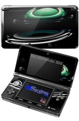 Silently - Decal Style Skin fits Nintendo 3DS (3DS SOLD SEPARATELY)