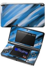Paint Blend Blue - Decal Style Skin fits Nintendo 3DS (3DS SOLD SEPARATELY)