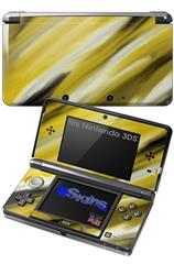 Paint Blend Yellow - Decal Style Skin fits Nintendo 3DS (3DS SOLD SEPARATELY)