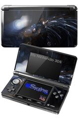 Cyborg - Decal Style Skin fits Nintendo 3DS (3DS SOLD SEPARATELY)