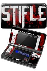 Stifle - Decal Style Skin fits Nintendo 3DS (3DS SOLD SEPARATELY)