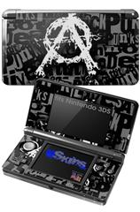Anarchy - Decal Style Skin fits Nintendo 3DS (3DS SOLD SEPARATELY)