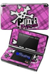 Punk Princess - Decal Style Skin fits Nintendo 3DS (3DS SOLD SEPARATELY)