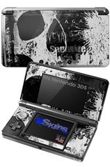 Urban Skull - Decal Style Skin fits Nintendo 3DS (3DS SOLD SEPARATELY)