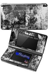 Graffiti Grunge Skull - Decal Style Skin fits Nintendo 3DS (3DS SOLD SEPARATELY)