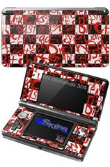 Insults - Decal Style Skin fits Nintendo 3DS (3DS SOLD SEPARATELY)