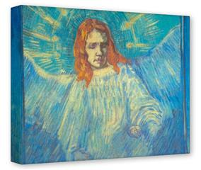 Gallery Wrapped 11x14x1.5 Canvas Art - Vincent Van Gogh Angel