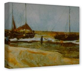 Gallery Wrapped 11x14x1.5 Canvas Art - Vincent Van Gogh Calm Weather