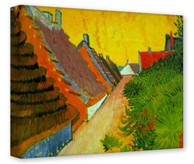 Gallery Wrapped 11x14x1.5  Canvas Art - Vincent Van Gogh Saintes-Maries