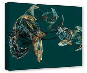Gallery Wrapped 11x14x1.5  Canvas Art - Blown Glass