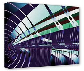 Gallery Wrapped 11x14x1.5  Canvas Art - Concourse