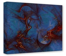 Gallery Wrapped 11x14x1.5  Canvas Art - Celestial