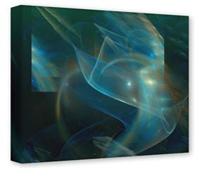 Gallery Wrapped 11x14x1.5  Canvas Art - Aquatic