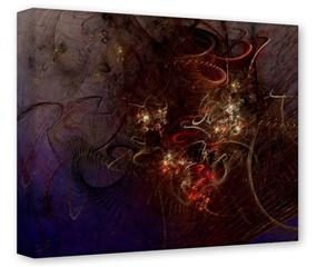 Gallery Wrapped 11x14x1.5  Canvas Art - Burst