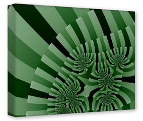 Gallery Wrapped 11x14x1.5  Canvas Art - Camo