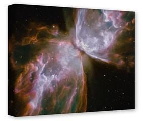 Gallery Wrapped 11x14x1.5  Canvas Art - Hubble Images - Butterfly Nebula