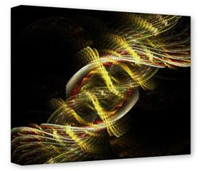 Gallery Wrapped 11x14x1.5  Canvas Art - Dna
