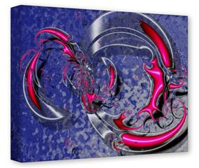 Gallery Wrapped 11x14x1.5  Canvas Art - Dragon3