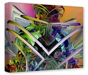 Gallery Wrapped 11x14x1.5  Canvas Art - Atomic Love