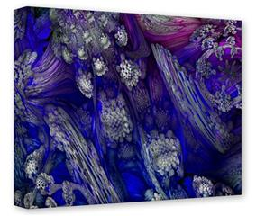 Gallery Wrapped 11x14x1.5  Canvas Art - Flowery