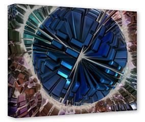 Gallery Wrapped 11x14x1.5  Canvas Art - Spherical Space