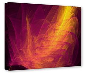 Gallery Wrapped 11x14x1.5  Canvas Art - Eruption