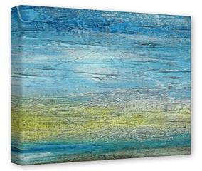 Gallery Wrapped 11x14x1.5  Canvas Art - Landscape Abstract Beach