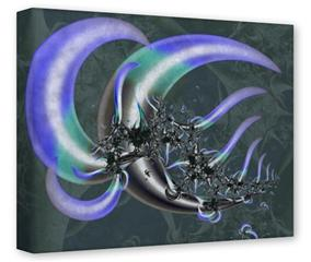 Gallery Wrapped 11x14x1.5  Canvas Art - Sea Anemone2