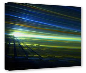 Gallery Wrapped 11x14x1.5  Canvas Art - Sunrise