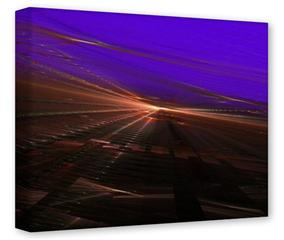 Gallery Wrapped 11x14x1.5  Canvas Art - Sunset