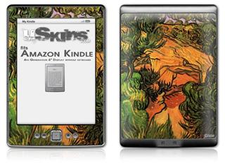 Vincent Van Gogh Entrance To A Quarry - Decal Style Skin (fits 4th Gen Kindle with 6inch display and no keyboard)