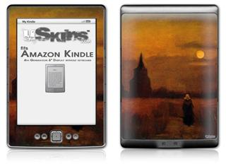 Vincent Van Gogh Fields - Decal Style Skin (fits 4th Gen Kindle with 6inch display and no keyboard)