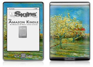 Vincent Van Gogh Orchard - Decal Style Skin (fits 4th Gen Kindle with 6inch display and no keyboard)