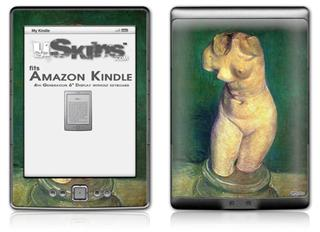 Vincent Van Gogh Plaster Statuette Of A Female Torso6 - Decal Style Skin (fits 4th Gen Kindle with 6inch display and no keyboard)