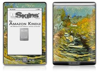 Vincent Van Gogh Saint-Remy - Decal Style Skin (fits 4th Gen Kindle with 6inch display and no keyboard)