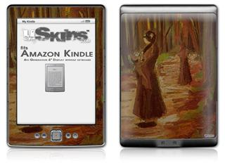 Vincent Van Gogh Two Women - Decal Style Skin (fits 4th Gen Kindle with 6inch display and no keyboard)