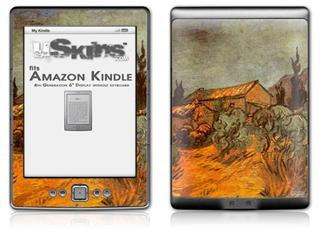 Vincent Van Gogh Wooden Sheds - Decal Style Skin (fits 4th Gen Kindle with 6inch display and no keyboard)