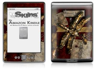 Conception - Decal Style Skin (fits 4th Gen Kindle with 6inch display and no keyboard)