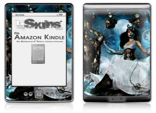 Heptameron - Decal Style Skin (fits 4th Gen Kindle with 6inch display and no keyboard)