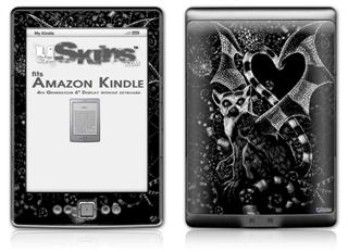 Pineapples - Decal Style Skin (fits 4th Gen Kindle with 6inch display and no keyboard)