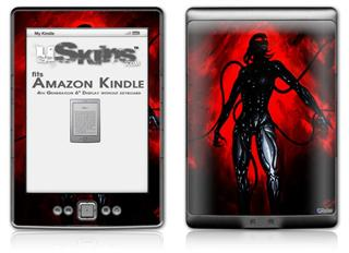 Shell - Decal Style Skin (fits 4th Gen Kindle with 6inch display and no keyboard)