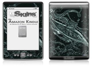 The Nautilus - Decal Style Skin (fits 4th Gen Kindle with 6inch display and no keyboard)