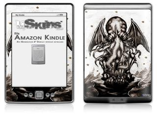 Thulhu - Decal Style Skin (fits 4th Gen Kindle with 6inch display and no keyboard)